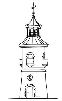 Moritzburg-Leuchtturm