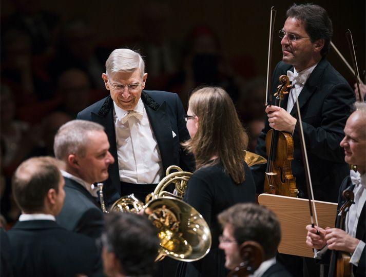 Palastkonzert mit Gewandhausorchester unter Herbert Blomstedt