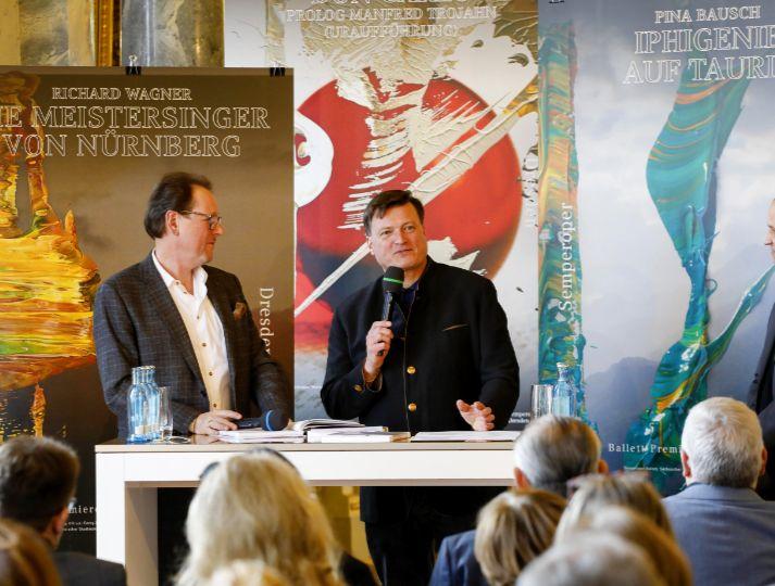 Jahrespressekonferenz Semperoper
