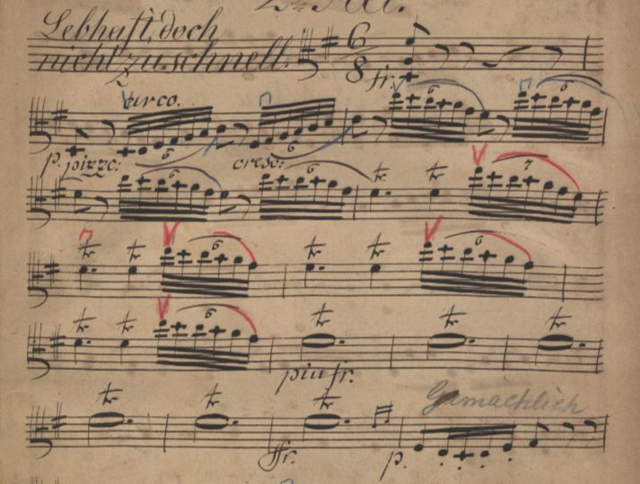 15_20190521_Digitalisat_Richard Wagner_Meistersinger 2. Akt (c) SLUB Dresden