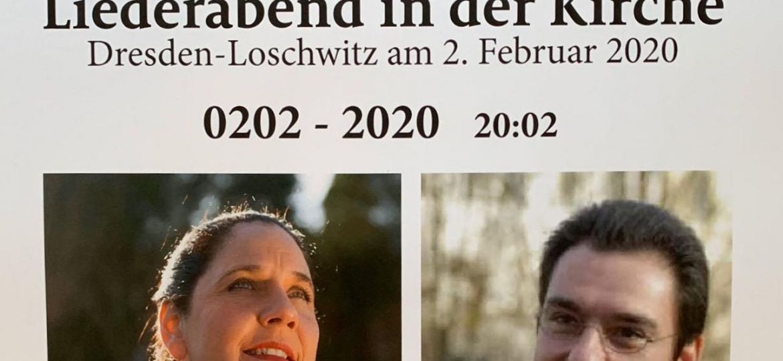 Plakat Liederabend 200220