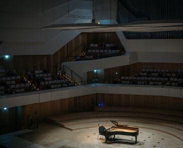 Konzert der Dresdner Musikfestspiele mit Pianist Arcadi Volodos am 04.06.2021 im Kulturpalast . Foto: Oliver Killig