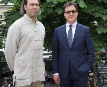 Bayerische Staatsoper_Vladimir Jurowski, Serge Dorny_c_Wilfried Hösl (1)