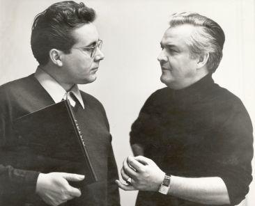 Peter Schreier und Theo Adam